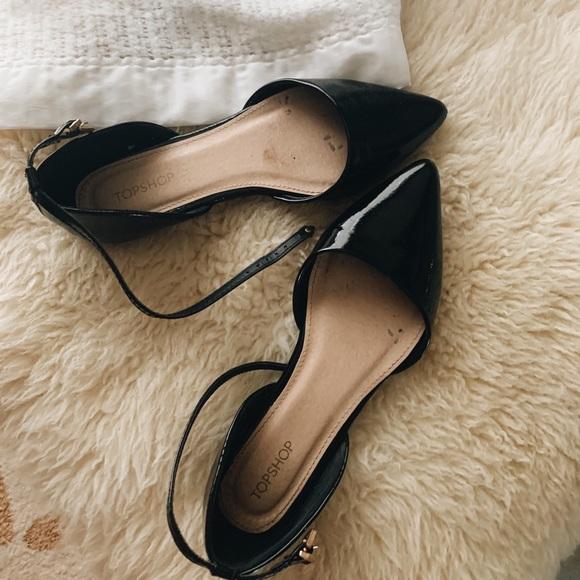 TopShop Classy Black Sandals